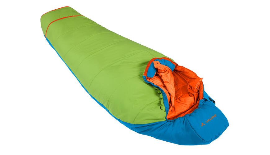 VAUDE Dreamer Adjust 450 - Sac de couchage - vert/bleu